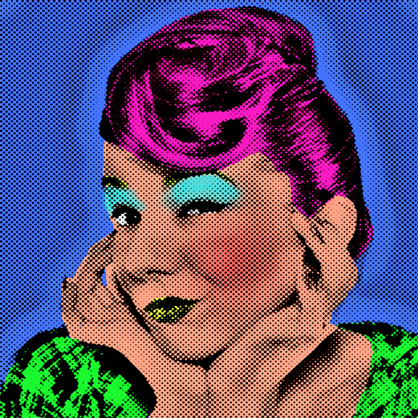 Andy Warhol Effect Graphic