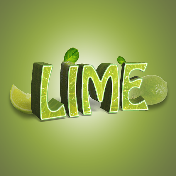 Lime Effect Graphic