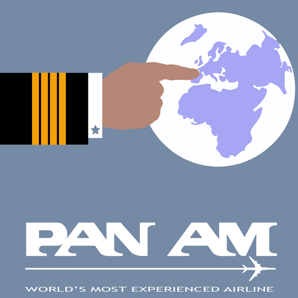 Pan Am Retro Poster