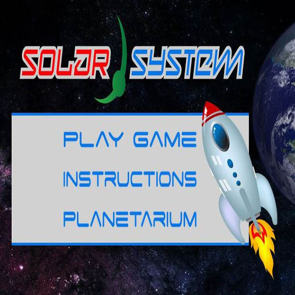 Solar System - Childrens Educational web game